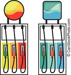 Gas Pump color