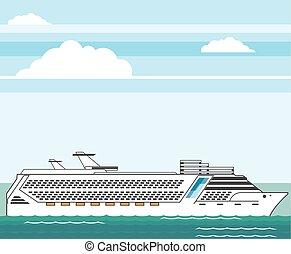 Cruise ship  - Cruise ship