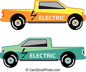 Electric power pickup