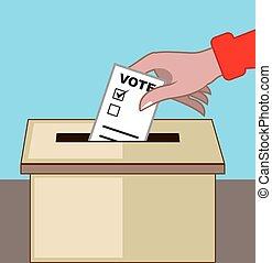 Voting Box.