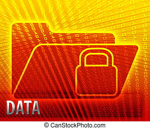 Secure encryption data folder - Secure date encryption...