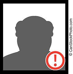 Unknown person Criminal Icon