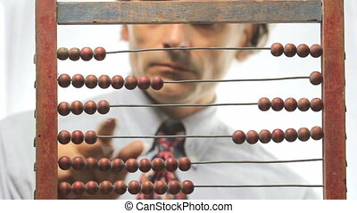 abacus count, financial concept