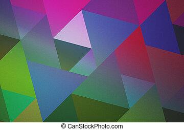 Retro Geometric Texture