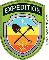 Expedition Shoulder Patch   art