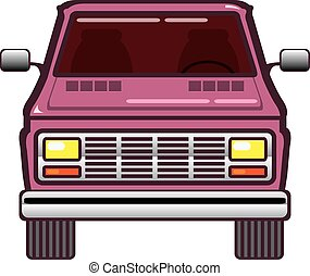 Vintage Van Front