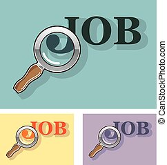 Job search under magnifying glass