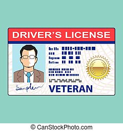 Veterans Driver's License