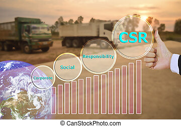 pressing like corporate social responsibility (CSR) and...