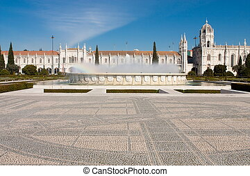 The Hieronymites Monastery is located in Lisbon Portugal.
