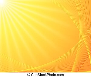 Sunburst background Beautiful summer sunburst