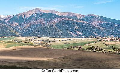 West Tatras, Slovakia - Hill Baranec in West Tatras at...