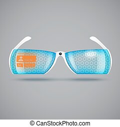 Virtual reality glasses - Virtual reality future glasses....