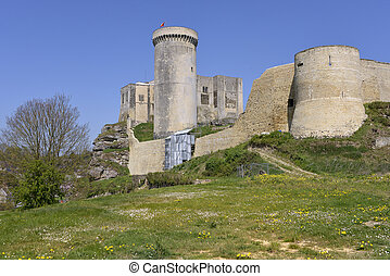 Castel of Falaise in France - Castle of William the...
