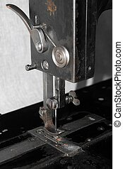 The old sewing machine - detail