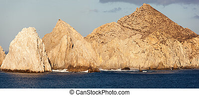 Cabo San Lucas Rocks - Panoramic view of famous Cabo San...