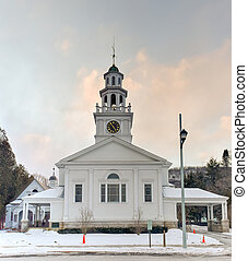 First Congregational Church - Woodstock, Vermont - The First...