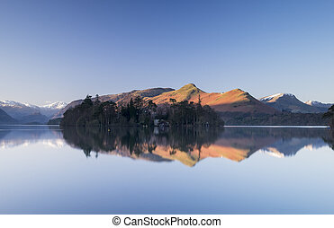 Catbells Reflection - Catbells reflecting in the still...