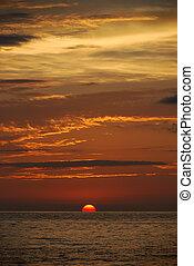 Sunset in Puerto Vallarta - Puerto Vallarta is famous by its...