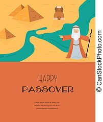 Abstract background - out of the Jews from Egypt vector and...