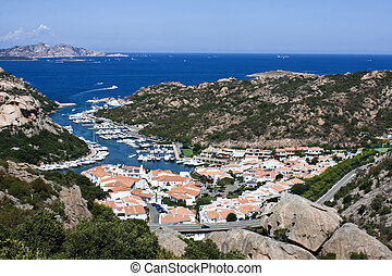 Aerial View Above Poltu Quatu - Sardinia, Italia - Travel...