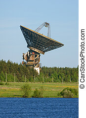 space communication antenna - huge space communication radar...