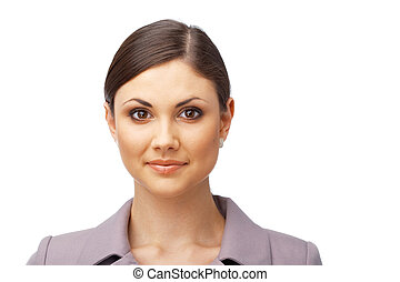 Successful business woman - Pretty young business woman...