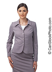 Successful business woman - Young Caucasian business woman...
