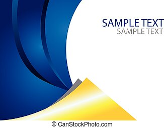 Abstract Brochure Template Size A4 - Abstract design vector...