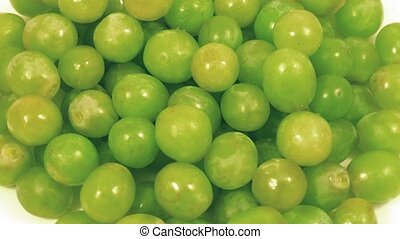 Ripe Grapes Rotating Slowly - Overhead shot of grapes...