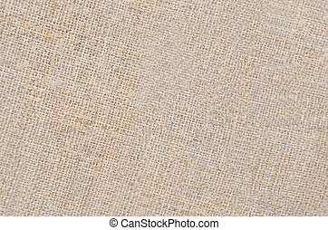 Canvas background - Close-up of canvas fabric cloth textile...