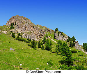 Val di Fassa ,South Tyrol ,Italy - Summer mountain landscape...
