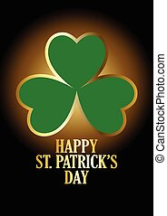 Happy St Patricks Day - Text of Happy Saint Patrick's Day...