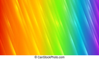 Colorful rainbow abstract striped video animation