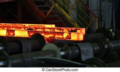 iron cast in steel making factory - iron cast in steel...