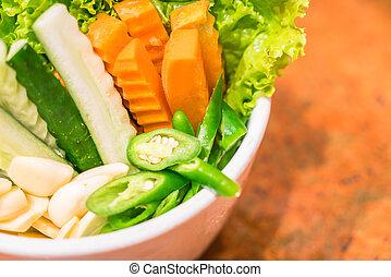 蔬菜, 綠色
