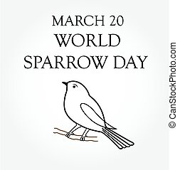 World Sparrow Day- March 20