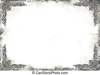 art-frameold photo - Stylization - art frameold photo