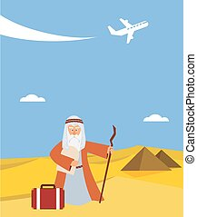 time for passover vacation in Hebrew moses with torah and...