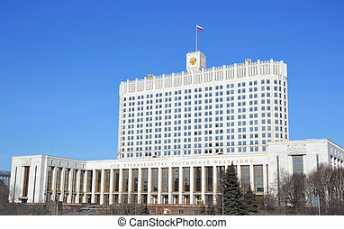 Building of the Government, Russia - Building of the...