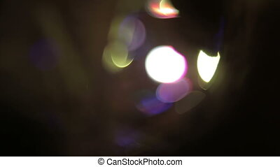 defocused bokeh lights, Full HD