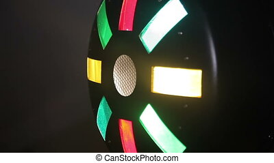 Disco Light equipment, Full HD