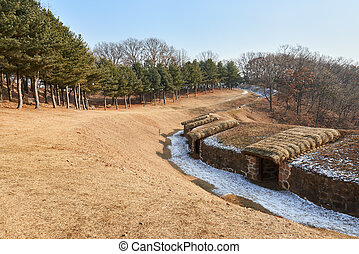 Deokpojin, which was a military camp for Sondolmok of Joseon...