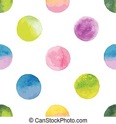 background with watercolor spots