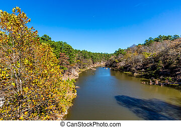 Tranquil Outdoor Scene in Oklahoma - A Tranquil Autumn...