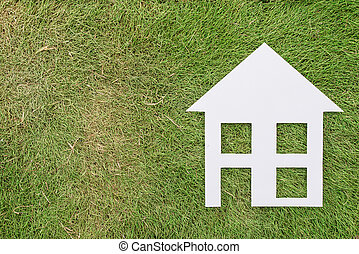 House with a home environment, green living