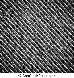 black color corrugated paper textur - Close up black color...