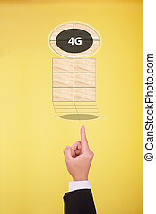 the fourth generation of mobile telecommunication