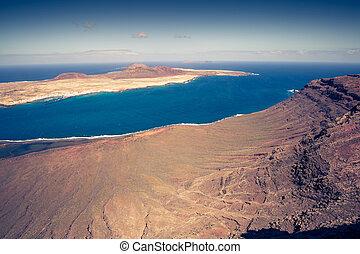 Mirador del Rio in Lanzarote, Canary Islands, Spain