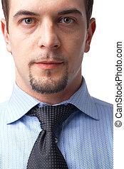 Close-up Of a Businessman.